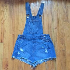 An overall (booty shorts)